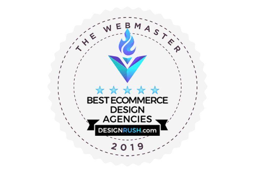 The Webmaster incluida en el Top 25 E-Commerce Design & Development Agencies 2019