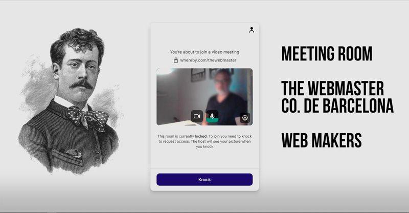 Acceso a la sala de reuniones virtual