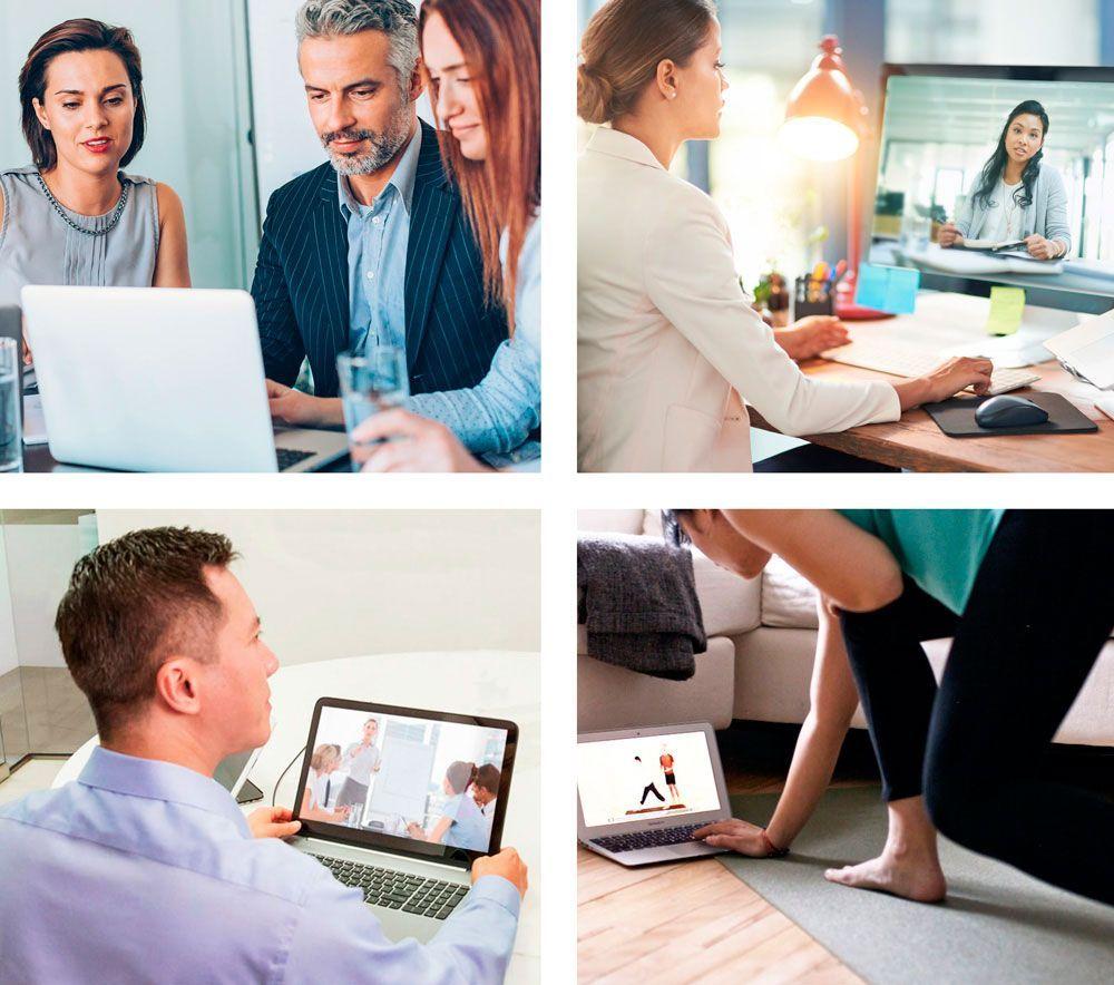 Continúa trabajando con normalidad: Creamos tu sala de reuniones y visitas virtuales