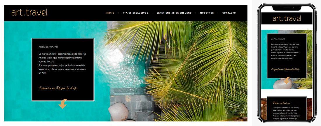 The Webmaster Web Makers Art Travel diseno web