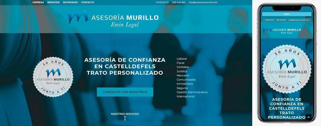 The Webmaster Web Makers Asesoría Murillo diseno web
