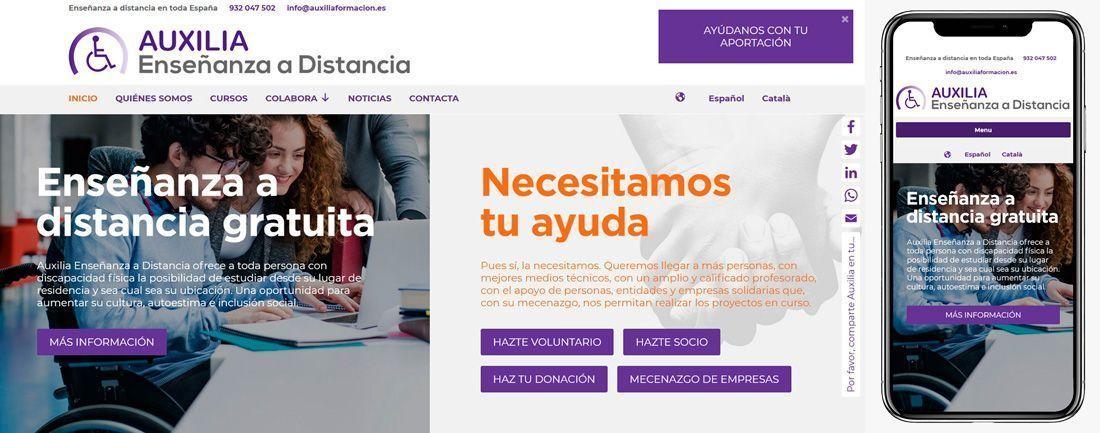 The Webmaster Web Makers Auxilia diseno web