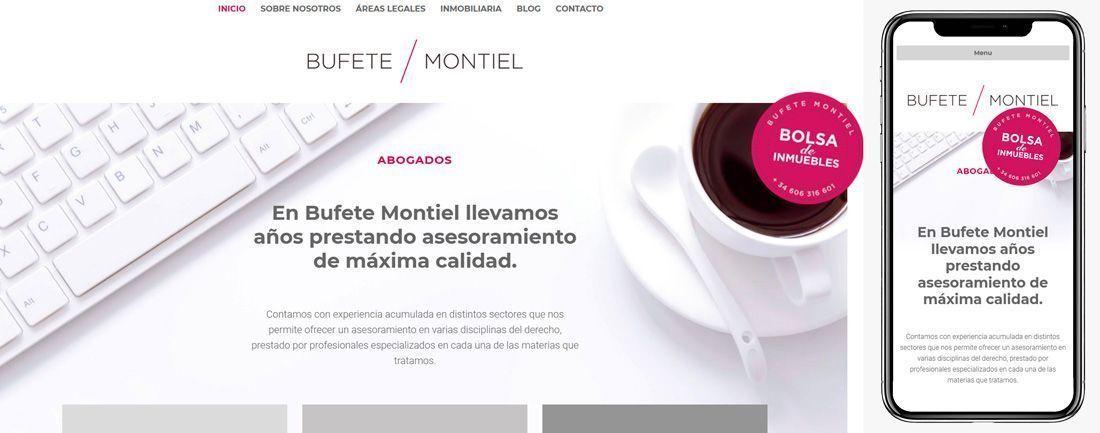 The Webmaster Web Makers Bufete Montiel diseno web