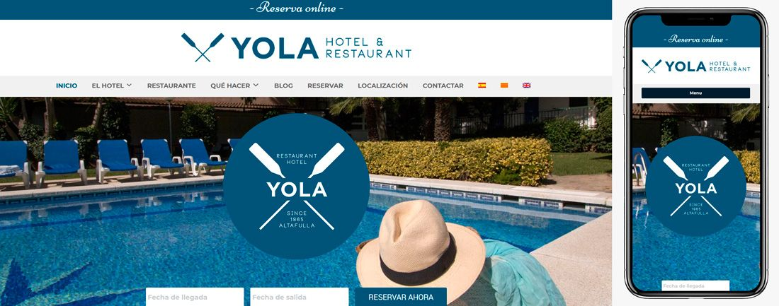 The Webmaster Web Makers Hotel Yola diseno web