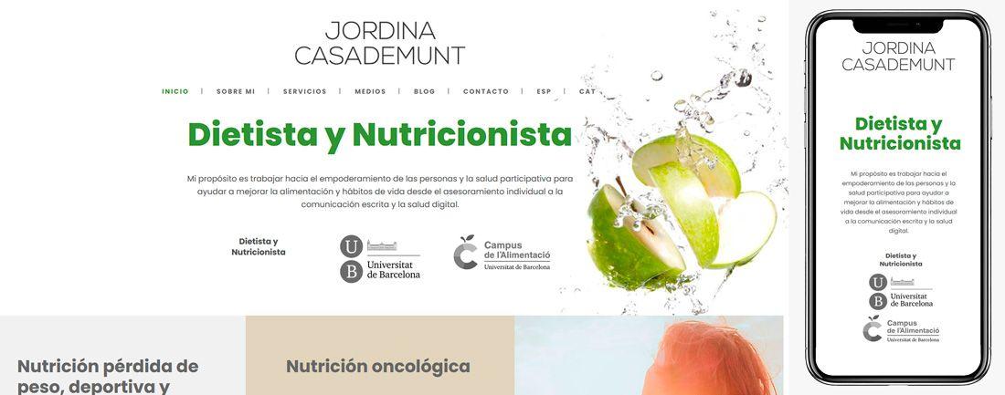 The Webmaster Web Makers Jordina Casademunt diseno web