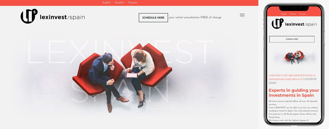 The Webmaster Web Makers lexinvest Spain diseno web