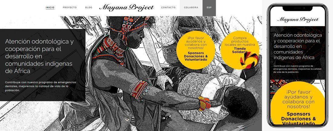 The Webmaster Web Makers Mayanan Project diseno web
