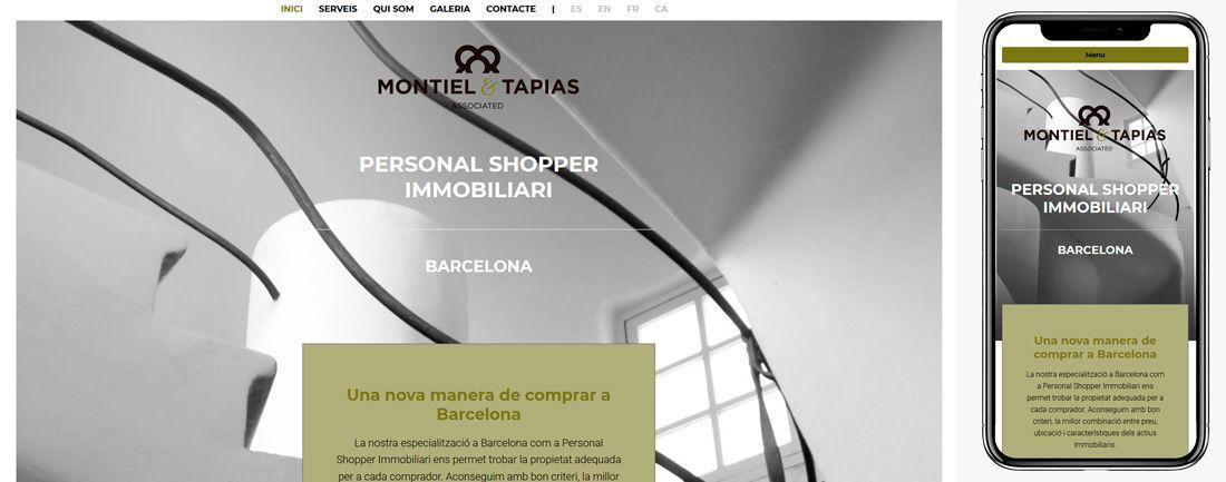 The Webmaster Web Montiel and Tapias diseno web