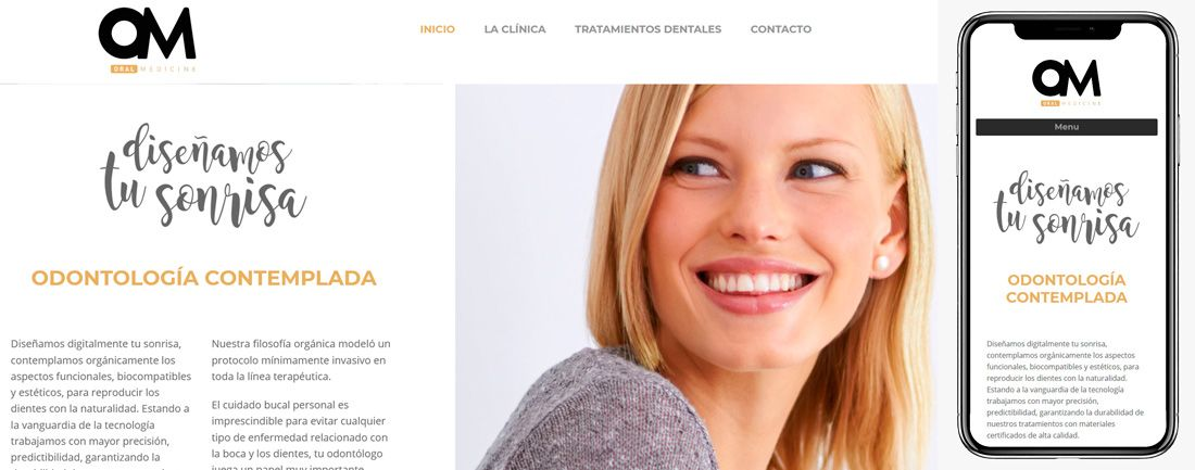 The Webmaster Web Makers OM Clinic diseno web