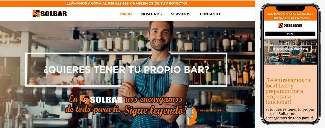 The Webmaster Web Makers SolBar diseno web