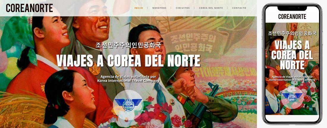 The Webmaster Web Makers Corea Norte diseno web