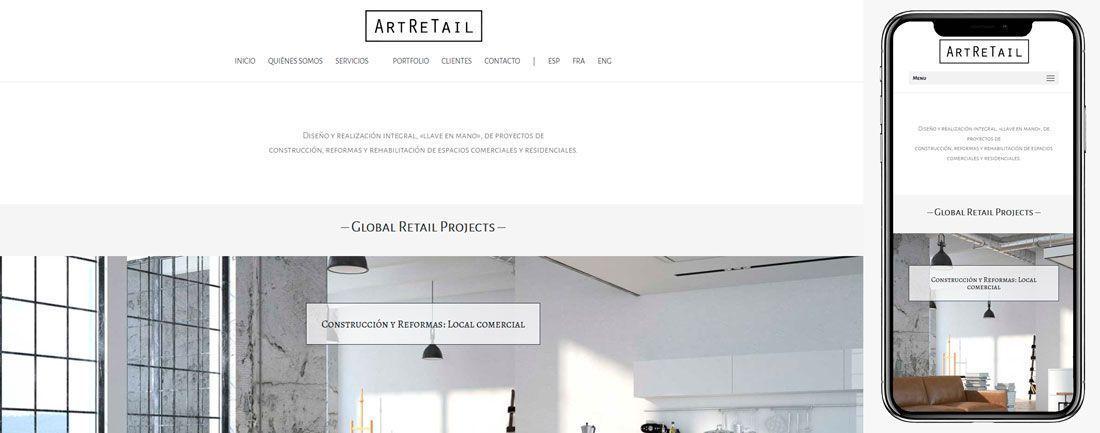 The Webmaster Web Makers Art Retail diseno web