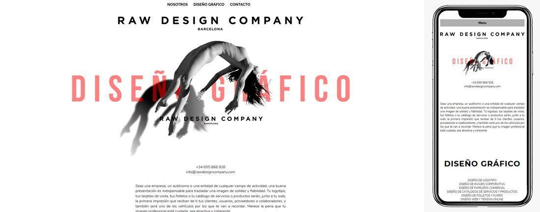 The Webmaster Web Makers Raw Design Company diseno web