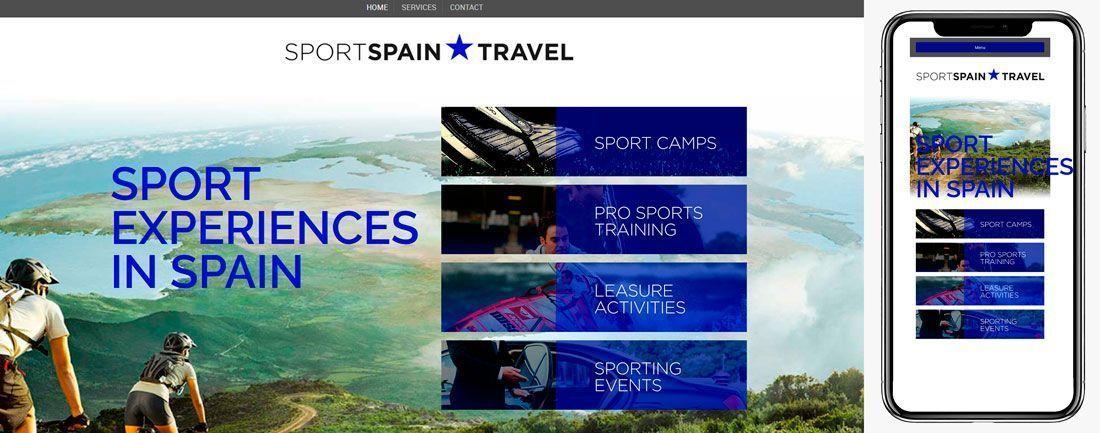 The Webmaster Web Makers Sport Spain Travel diseno web