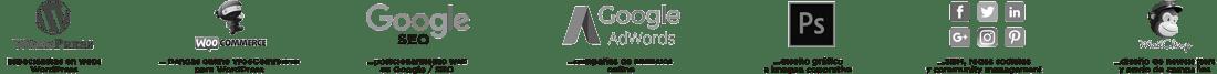 Servicios The Webmaster diseño web