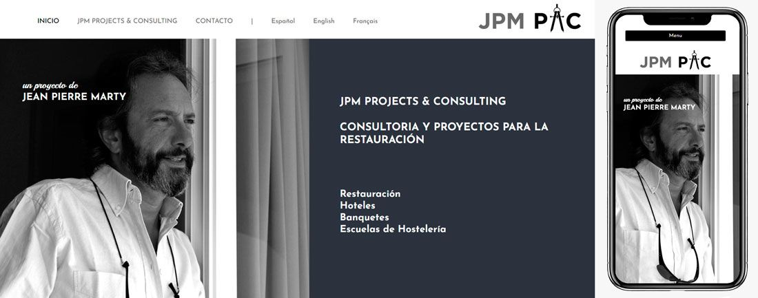 The Webmaster Web Makers Jean Pierre Marty JPM Projects and Consulting diseno web