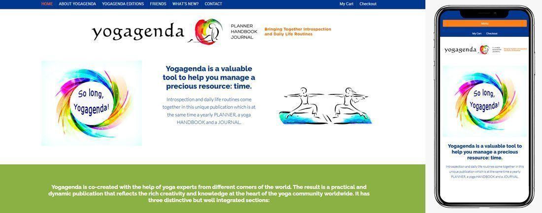 The Webmaster Web Makers Elena Sepulveda Yoga Agenda diseno web