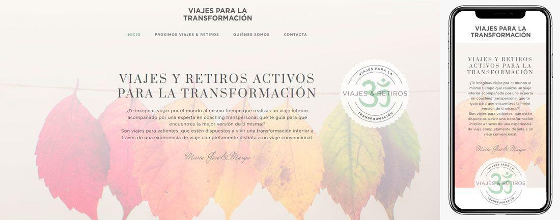 The Webmaster Web Makers Viajes para la Transformación diseno web