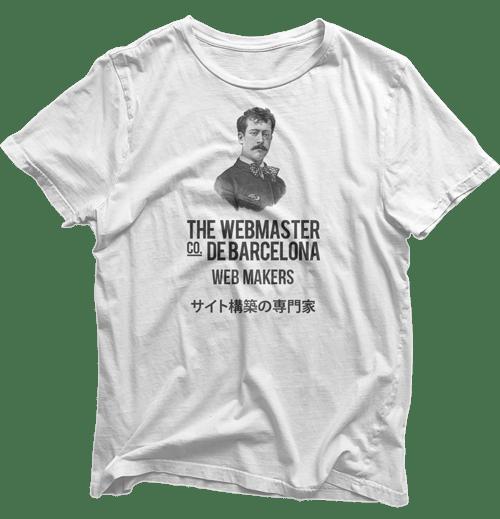 The Webmaster t-shirt
