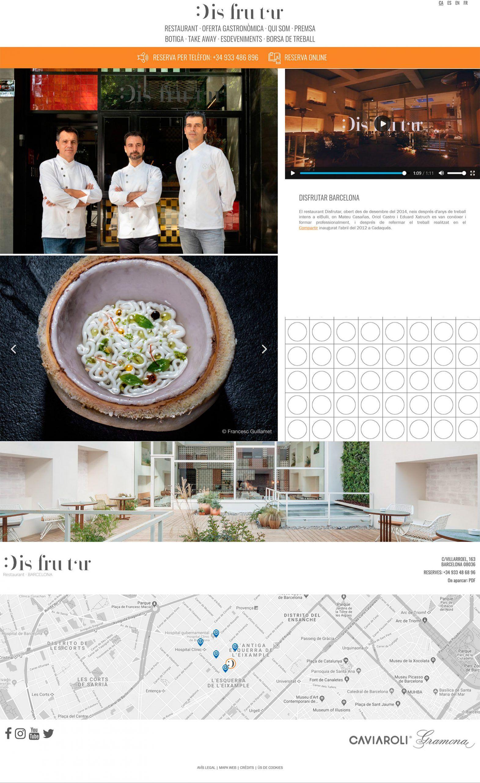 ¿Cómo son las webs de los mejores restaurantes del mundo (seis son españoles)?